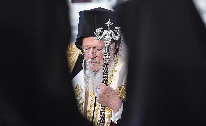Вселенский Патриарх Варфоломей в Стамбуле