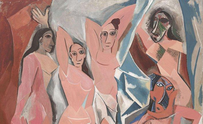 Картина Пабло Пикассо «Авиньонские девицы», изображающая проституток в Барселоне