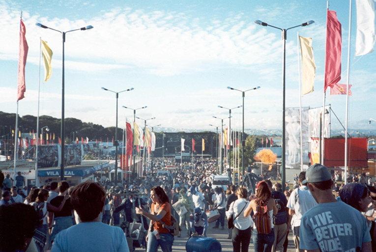 Участники фестиваля Avante! в 2001 году