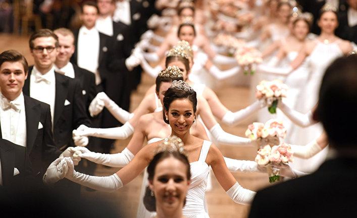 Участники венского бала