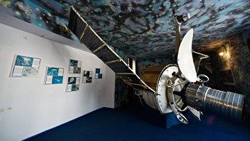 Экспонат в музее Центра дальней космической связи в селе Витино
