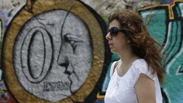Граффити в Афинах