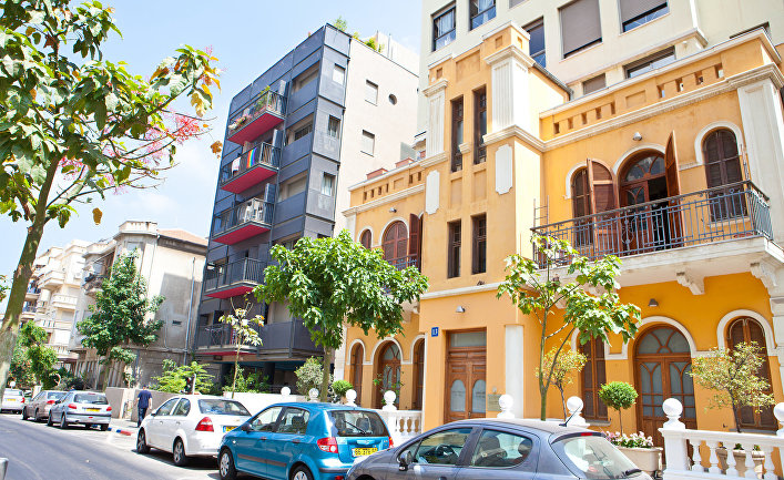 Здания в Тель-Авиве