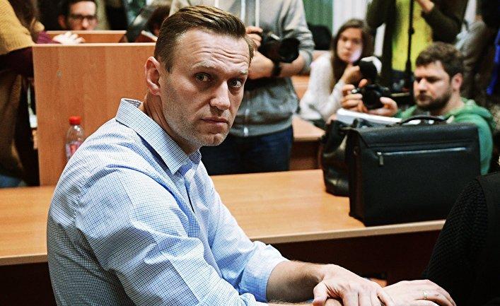Алексей Навальный в Симоновском районном суде Москвы. 2 октября 2017