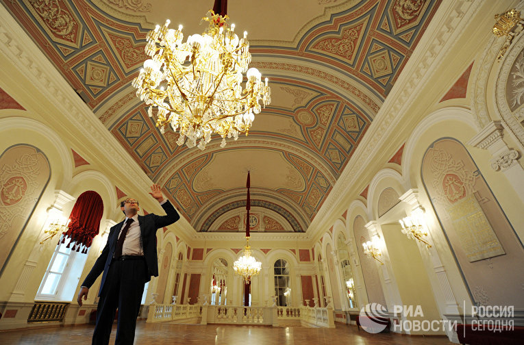 Завершение реконструкции Большого театра в Москве