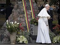 Папа Римский Франциск в Вильнюсе, Литва