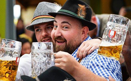 Открытие фестиваля пива Октоберфест