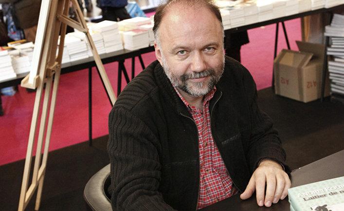 Писатель Андрей Курков