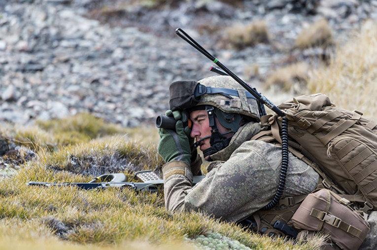 Солдат вооруженных сил Новой Зеландии