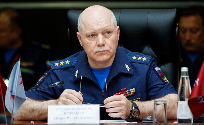 Начальник главного управления Генерального штаба Вооружённых сил России генерал-полковник Игорь Коробов