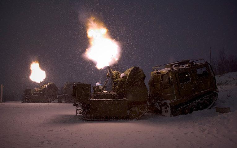 Военные учения в Порсангмуене, Норвегия