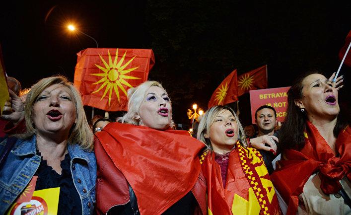 Референдум о переименовании Македонии