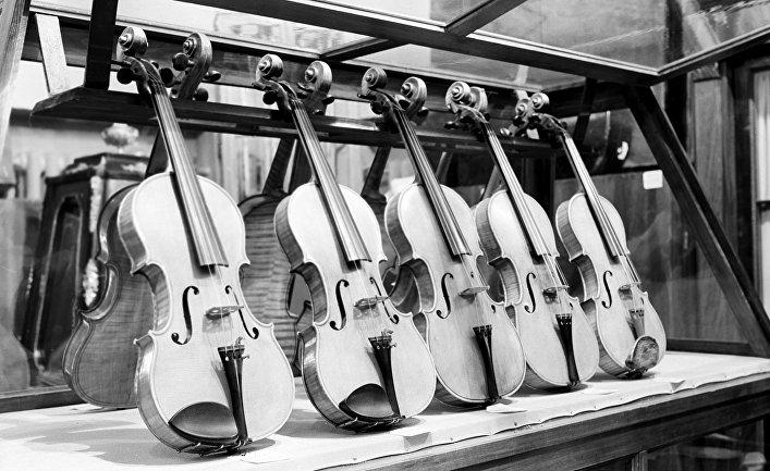 Скрипки работы русских мастеров