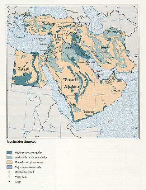 Битва за воду на Ближнем Востоке