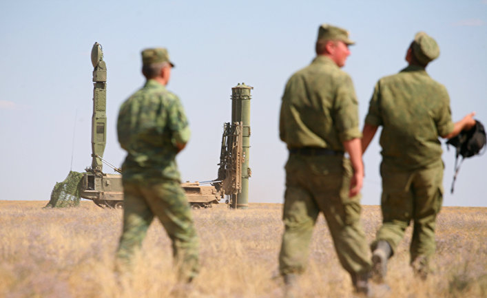 Учения войск ПВО Западного военного округа