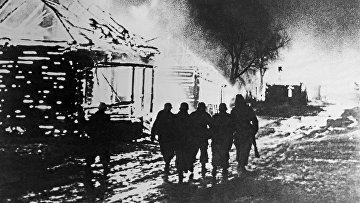 Немецкие оккупанты на белорусской земле