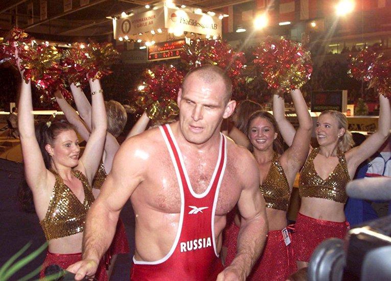 Российский боец Александр Карелин