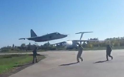 Безумные полеты  украинских истребителей
