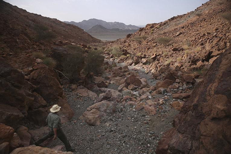 Руководитель проекта по бурению в горах Омана Питер Келемен