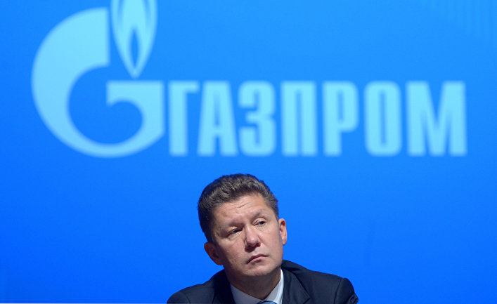 Председатель правления ОАО «Газпром» Алексей Миллер