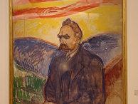 Эдвард Мунк. Портрет Фридриха Ницше. 1906 год.