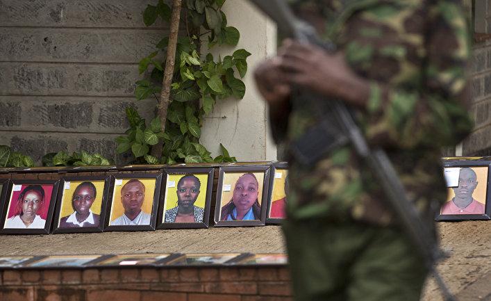 Портреты студентов, погибших во время атаки группировки «Аш-Шабаб» на университет в Гариссе
