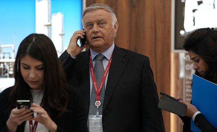 Владимир Якунин на Петербургском международном экономическом форуме. 25 мая 2018