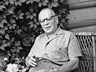 Советский писатель Константин Паустовский