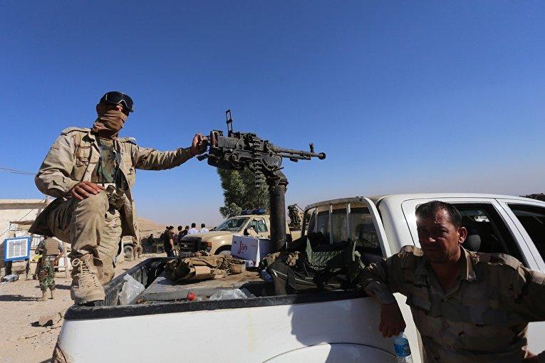 Столкновения между курдскими формированиями «пешмерга» и силами Исламского государства в Мосуле, Ирак