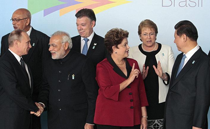 Саммит БРИКС в Бразилии