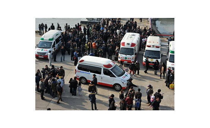 оказание медицинской помощи пострадавшим жителям острова Йонпхёндо