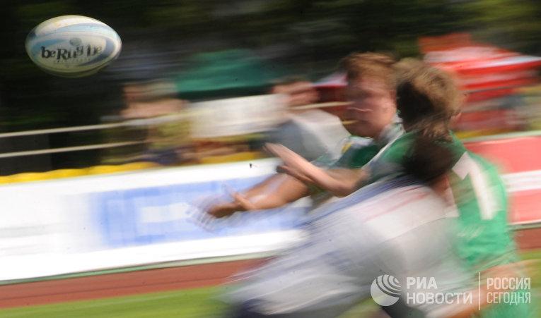 """Кубок европейских чемпионов по регби-7 в """"Лужниках"""""""