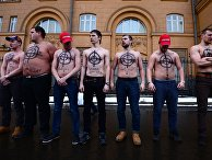 """Акция """"Санкции против России - санкции против меня"""" у посольства США в Москве"""