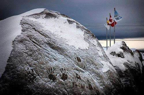 канадское побережье северного ледовитого океана