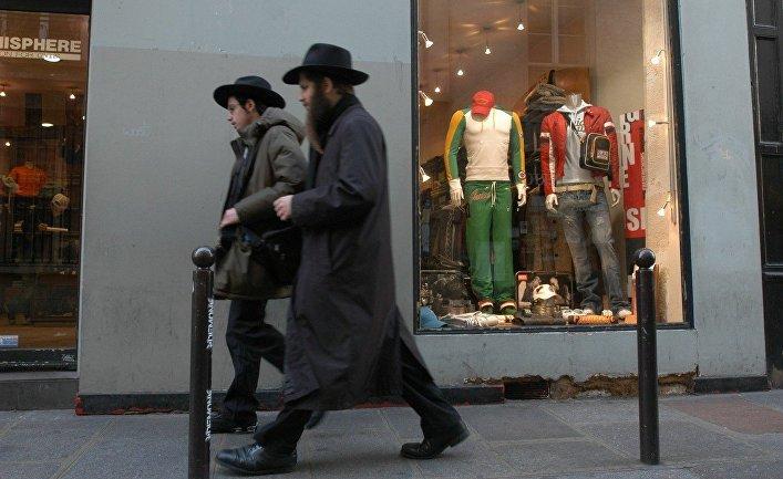 Еврейский квартал в Париже
