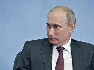 Встреча В.Путина и Х.Гоцяна в Санкт-Петербурге