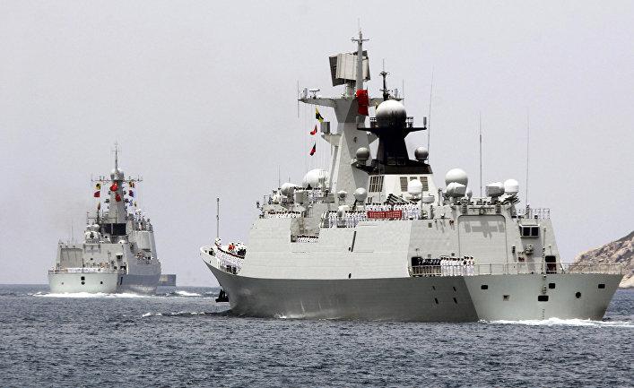 Китайские корабли «Хайкоу» и «Юэян» отправляются на учения RIMPAC