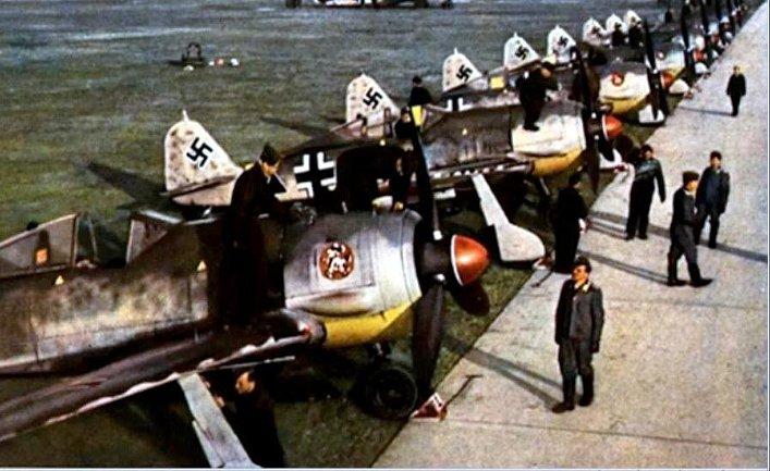Немецкий истребитель J-87, Вторая мировая война