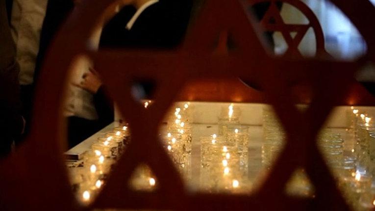 В Москве и Бресте зажгли свечи в память о Холокосте