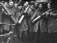Выжившие с эсминца HMS Achates