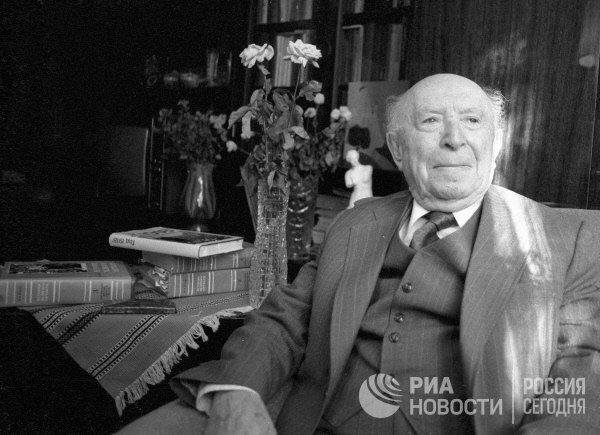 Советский историк, академик Академии наук СССР Исаак Минц