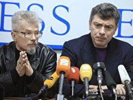 Эдуард Лимонов и Борис Немцов