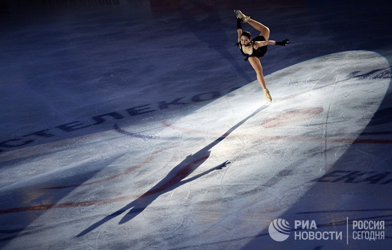 Показательное выступление Елизаветы Туктамышевой в Екатеринбурге