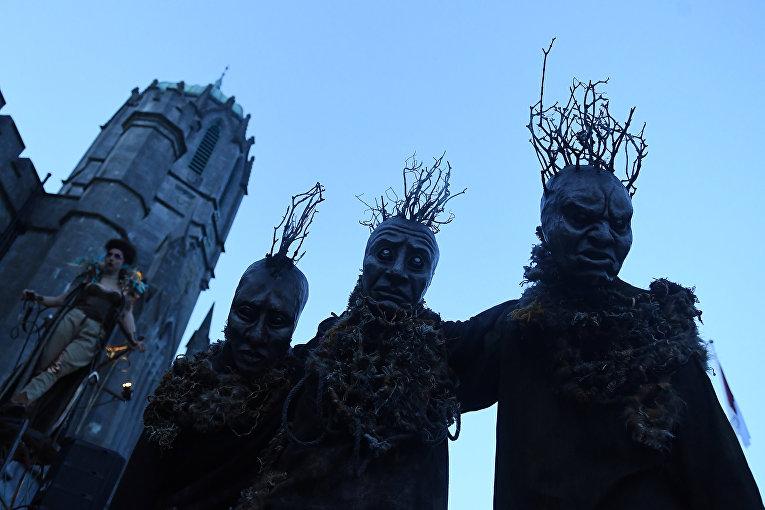 Хэллоуин в Голуэе, Ирландия