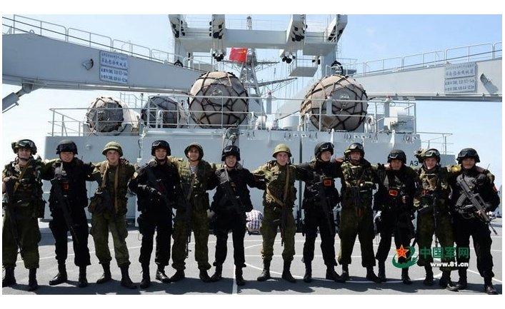 Российско-китайские учения «Морское взаимодействие - 2015»