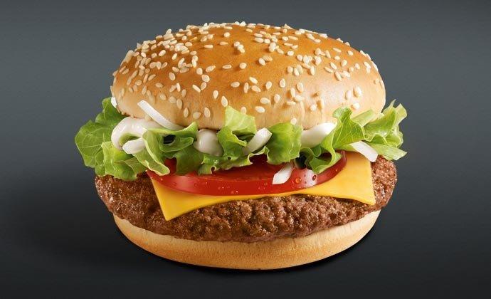 Гамбургер The WiesMac в польском Макдоналдсе