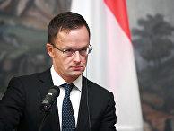Глава МИД Венгрии Петер Сийярто