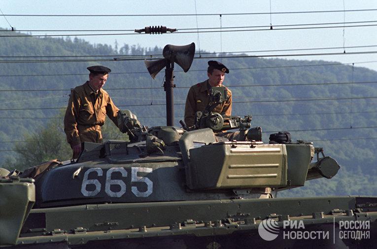 Вывод советских войск с территории ЧССР