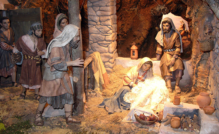 """""""Рождественские ясли"""" в Испании"""