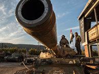 Ситуация на сирийско-турецкой границе
